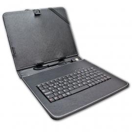 """Funda Tablet con Teclado 9,7"""" Negro Biwond"""