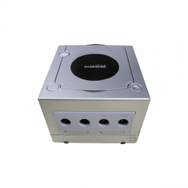Nintendo Game Cube Plata (Sin Mando)