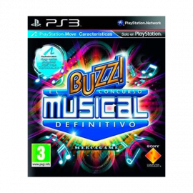 Buzz El Concurso Musical Definitivo PS3 (SP)