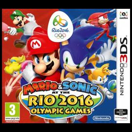 Mario y Sonic en los Juegos Olimpicos Rio 2016 3DS (SP)