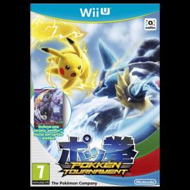 Pokken Tournament Incluye Tarjeta Amiibo Mewtwo Oscuro Wii U (SP)
