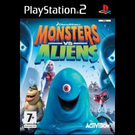 Monstruos vs Alienigenas PS2 (SP)