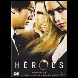 Heroes Temporada 4 Ed. Coleccionista (19 Cap) BluRay (SP)