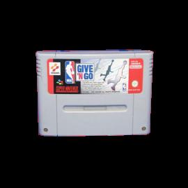 NBA Give N Go SNES
