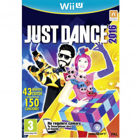 Just Dance 2016 Wii U (SP)