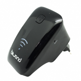 Repetidor WiFi n xtender 300 mbps Negro Biwond