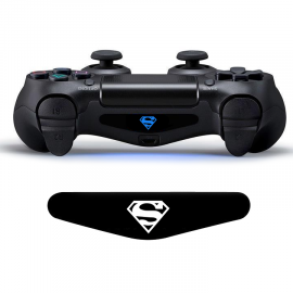 Skin Led DualShock 4 Superman
