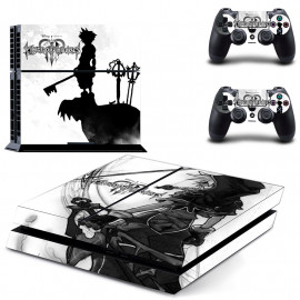 Skin Consola + Mando Modelo Kingdom Hearts PS4