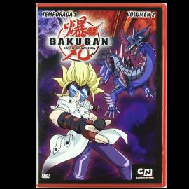 Bakugan Battle Brawlers Temporada 1 Vol 2 DVD