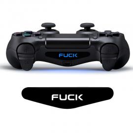 Skin Led DualShock 4 Fuck