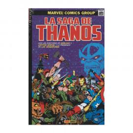 Comic La saga de Thanos Panini