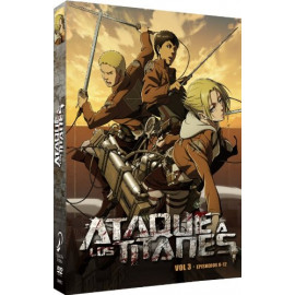 Ataque a los Titanes Temporada 1 Volumen 3 (Cap 9-12) BluRay (SP)