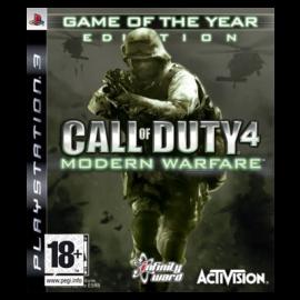 Call of Duty Modern Warfare Juego del Año PS3 (SP)