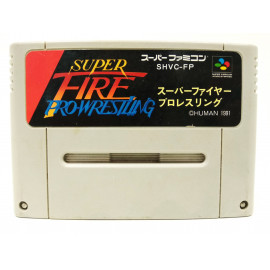 Super Fire ProWrestling Special NTSC JAP SNES