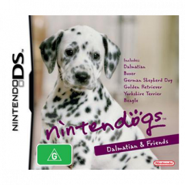 Nintendogs Dalmata y Compañia DS (SP)