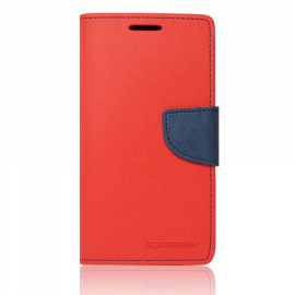 Funda Fancy Diary Mercury Rojo-Azul iPhone 6/6S Plus