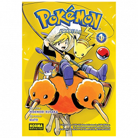 Manga Pokemon Amarillo Norma 01
