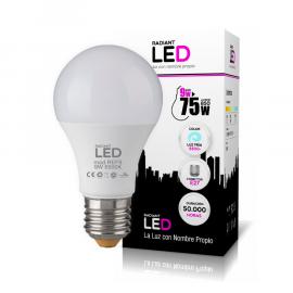 Bombilla Radiant LED de 9W 3000k Luz Fría 850LM Radiant LED