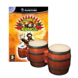 Donkey Konga + Bongos GC (SP)
