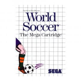 World Soccer the Mega Cartridge MS A