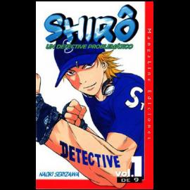 Manga Shiro Un Detective Problematico 01