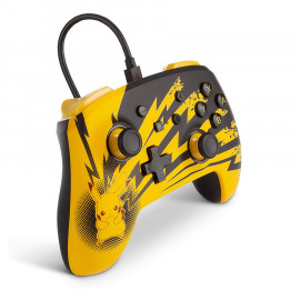 Mando Con Cable Power A Lightning Pikachu Switch