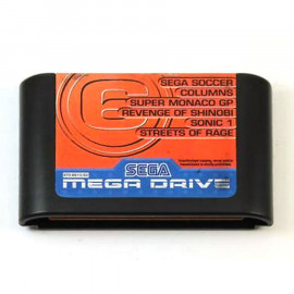 Mega Games 6 Vol.3 Sega Soccer/Columns/Super Monaco GP/Revenge of Shinobi/Sonic 1/Streets of Rage...