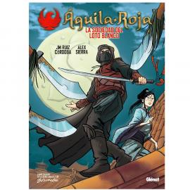 Comic Aguila Roja La Sociedad del Loto Blanco Glenat