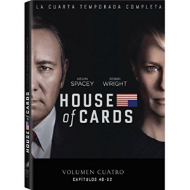 House of Cards Temporada 4 DVD