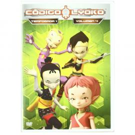Codigo Lyoko Vol 04 Temporada 1 DVD