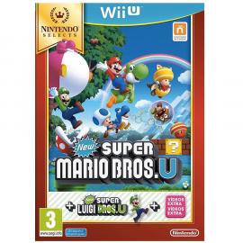 New Super Mario Bros U + New Super Luigi U Nintendo Selects Wii U (SP)