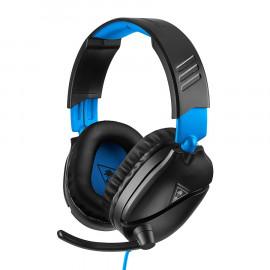 Headset Gaming Turtle Beach Recon 70P Negro Azul PS4
