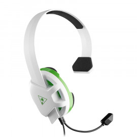 Headset Gaming Turtle Beach Recon Chat Blanco Verde Xbox