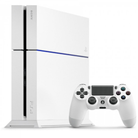 Pack: PS4 500 GB Blanco + Dual Shock 4