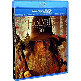 El Hobbit un Viaje Inesperado 2D+3D BluRay (SP)