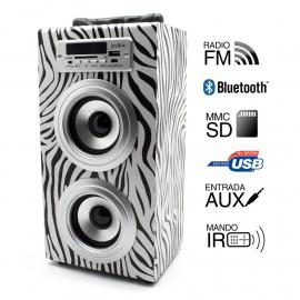 Reproductor Joybox Bluetooth Zebra