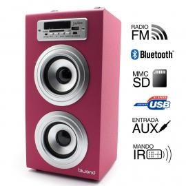 Reproductor Joybox Bluetooth Rosa