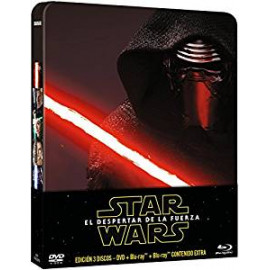 Star Wars El Despertar de la Fuerza Caja Metalica BluRay (SP)