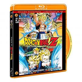 Peliculas Dragon Ball Z El Renacimineto de la Fusion Goku y Vegeta/ La Derrota del Superguerrero...