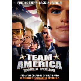 Team America La Policia del Mundo DVD
