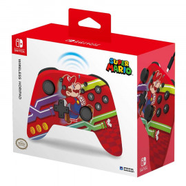 Mando Hori Horipad Inalambrico Super Mario Switch