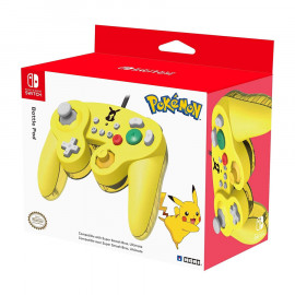 Mando Hori Pikachu Battle Pad Switch