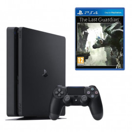 Pack: PS4 Slim 1TB + Dual Shock 4 + The Last Guardian