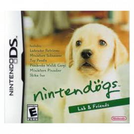 NintenDogs Labrador & Friends DS (SP)