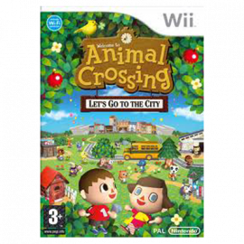 Animal Crossing Let's Go to the City Wii (SP)