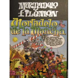 Comic Mortadelo y Filemon Mortadelo de La Mancha Circulo Lectores 50 Aniversario