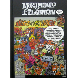 Comic Mortadelo y Filemon Llego el Euro Circulo Lectores 50 Aniversario