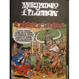Comic Mortadelo y Filemon El Disfraz, Cosa Falaz Circulo Lectores 50 Aniversario
