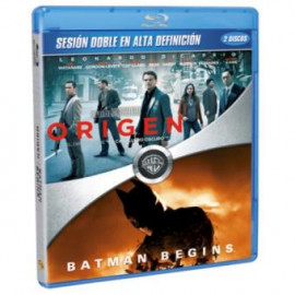 Origen y Batman Begins BluRay (SP)