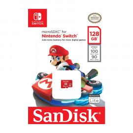 Tarjeta de Memoria Micro SDXC Sandisk Nintendo Switch 128GB